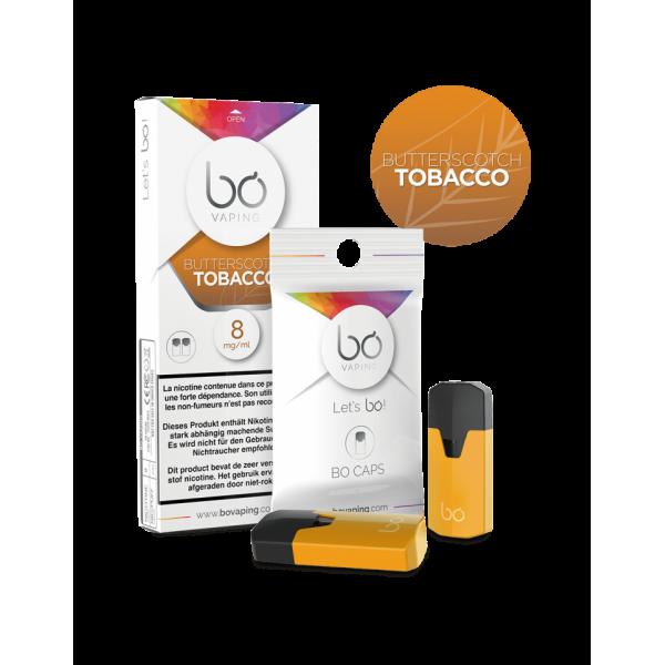 Bo Vaping Butterscotch Tobacco