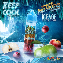Twelve Monkeys Hakuna Iced 50ml Shortfill
