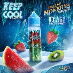 Twelve Monkeys Kanzi Iced 50ml Shortfill